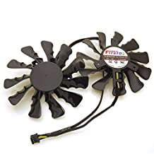 Replacement Video Card Cooling Fan For HD7950 HD7970 R9-280X R9-290 R9-390 Graphics Card Cooling Fan FD7010H12D DC 12V 0.35A 86mm 4 Pin