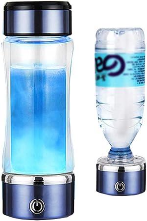 Rico en hidrógeno Botella de agua, Generador de Agua de hidrógeno genera hidrógeno de alta concentración de agua en 3 minutos, aumenta la circulación sanguínea y hace que la piel sana: Amazon.es: