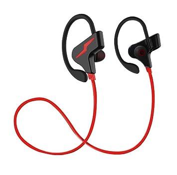 SQCOOL Auriculares inalámbricos Bluetooth en los auriculares del oído Auriculares deportivos impermeables Auriculares inalámbricos para el