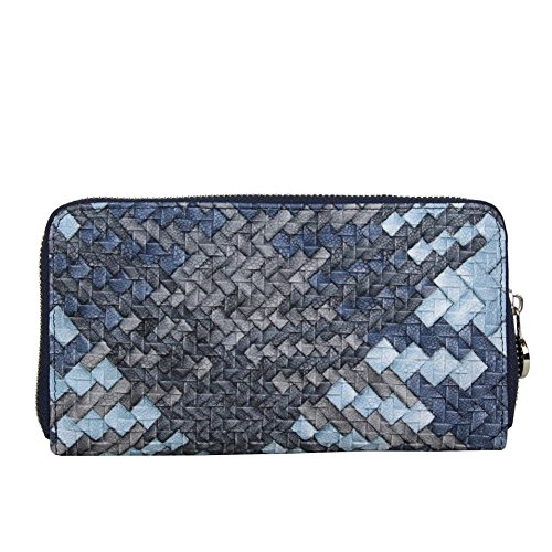 Fuchsia - Cartera de mano para mujer Azul Bleu foncé