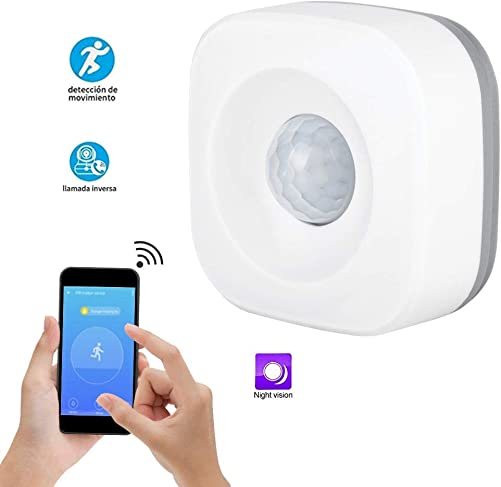 Oumij Security Burglar Alarm Sensor,WiFi Smart Home PIR Motion Detection Sensor Wireless Security Burglar Alarm Sensor
