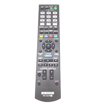 generic rm aau106 remote control for sony av system amazon co uk rh amazon co uk Sony 7.2 Channel Receiver Sony Remote