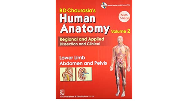 Bd Chaurasias Human Anatomy Regional And Applied Dissection And