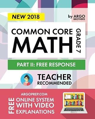 amazon com argo brothers math workbook grade 7 common core math