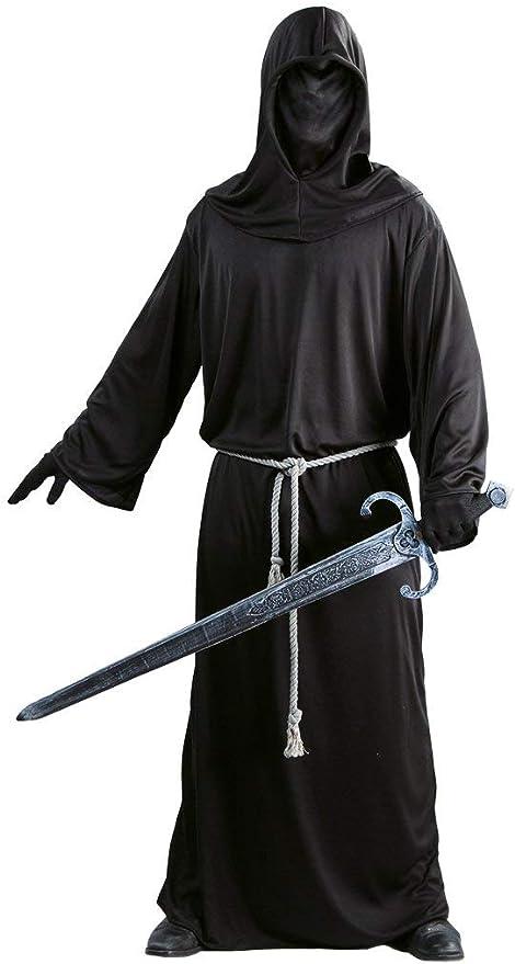 Costume Cavaliere Oscuro Morte Frate Halloween Carnevale Nazgul Signore 80479