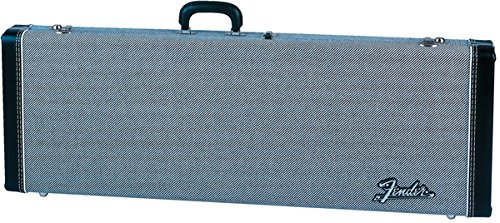 Fender Deluxe Strat/Tele Case, Black Tweed w/ Black Interior -  0996101406