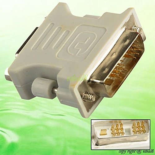 Tekit VGA Female to DVI D Single Link Male 18 1 Adapter for Graphic Card Durable