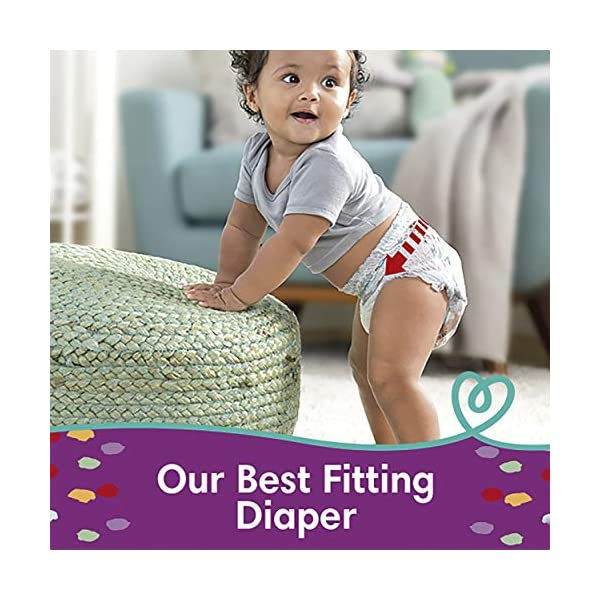 Pampers Pull On Cruisers 360° Fit Disposable Baby Diapers with Stretchy Waistband