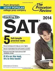 Princeton review sat prep book 2014
