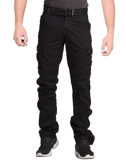 Pants black cargo Men s
