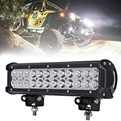 Package include: -1 x 72w led light bar  -necessary mounting brackets High Performance:  1.Wide operating voltage range: it can apply to different types of trucks,cars,and other vehicles. 2.Waterproof and anti-corrosion: it can in the rain or...