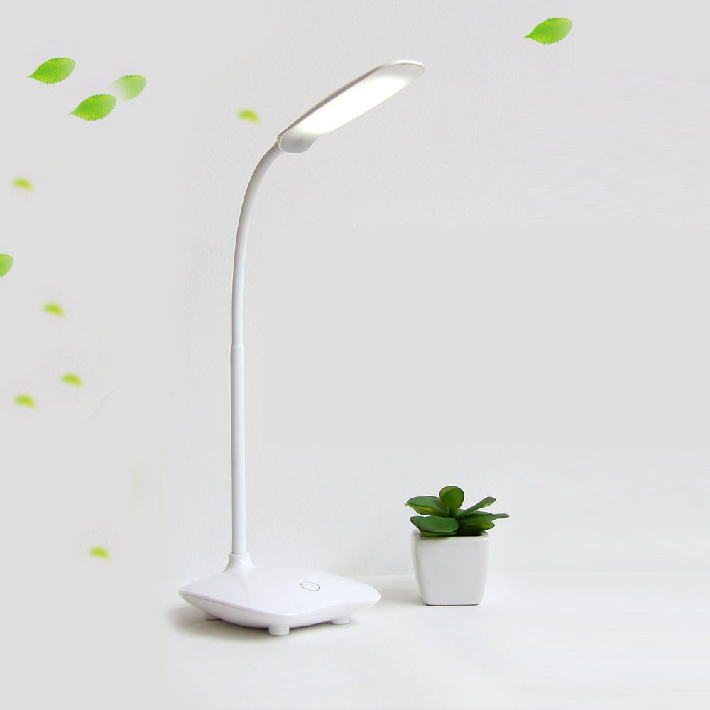 Schreibtischlampe Augenschutz LED-Lampe Flexibler Nachttisch Schreibtischlampe LED-Leseleuchte Lesen-Schreibtisch-Licht-nachladbare