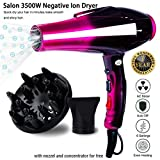 Professional Ionic Hair Dryer,Ceramic Powerful Fast Heat Salon...