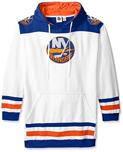 York New Team Islanders Fleece (NHL New York Islanders Men's Double Minor Fleece Hoodie, X-Large/Tall, Royal)