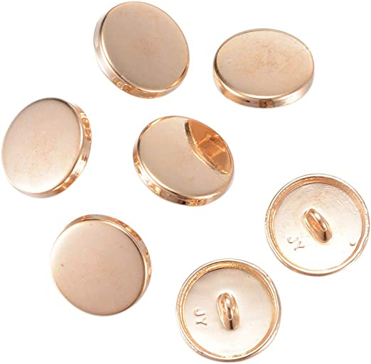 GOLD DESIGNER SHANK BUTTONS 13mm 18mm 20mm