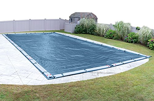 Robelle 353050R Super Winter Pool Cover for In-Ground Swimming Pools, 30 x 50-ft. In-Ground - Swimming Leaf Pool Covers