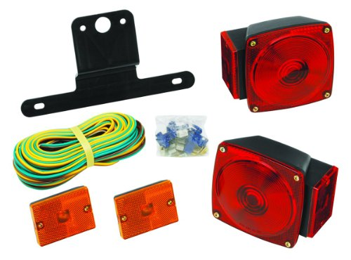 Wesbar Lens (Wesbar 2823285 Standard Trailer Light Kit, Under 80