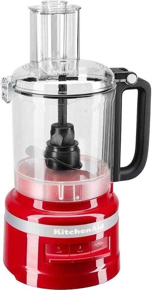 KitchenAid 5KFP0919EER - Robot de cocina (2.1 L, Red, Buttons, 1 m, China, Plastic): Amazon.es: Hogar