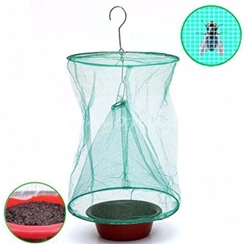 foldable-drosophila-fly-trap-hanging-catcher-wasp-bug-insect-killer-outdoor-pest-insect-control-tool