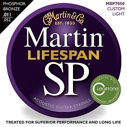 MARTIN Strings MSP7050 Strngs LifespanPhosBronze11-52