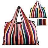 Reusable Grocery Bag Gophra 2 Packs Large Washable Foldable Eco...