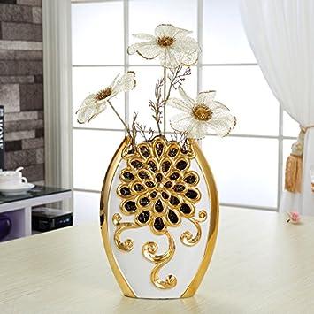 XOYOYO Keramik Vase Blumen Dekoration Wohnzimmer Home Ausstattung Tv ...