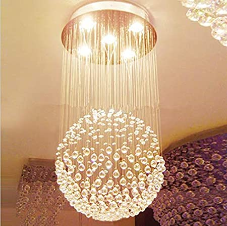 Gowe Gu10 Kristall Led Deckenleuchte Lampen Treppe Kronleuchter Ball