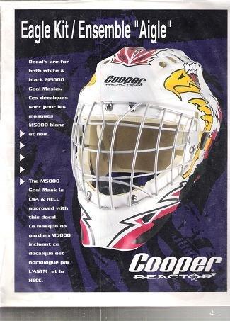 Amazon Com Goalie Mask Decal Kit Hockey Goalie Masks Sports