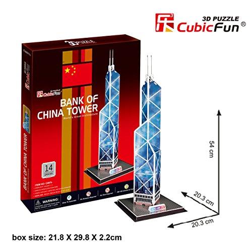 CubicFun 3D Puzzle C-Series ''Bank of China Tower - Hong Kong''