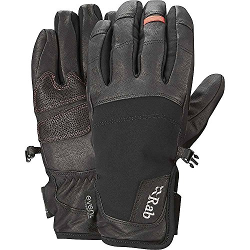 Rab Guide Short Glove Black Large by RAB