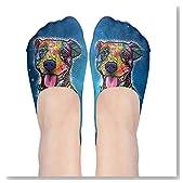 Pit Bull Love Dog Pop Art Women No-Show Casual Liner Socks Low Cut Ankle Socks Boat Socks