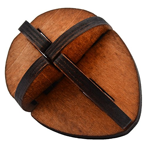 Classical Intellectual Toys Wooden Rotary Egg Yolk Wooden Puzzle Cube/educational Toy Kong Ming/luban Lock