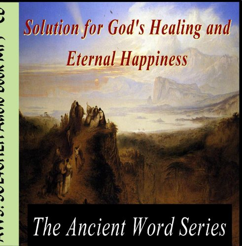 The Ancient Word Series: Sol4gheh - Audio Book Mp3 CD - Ancient Word Series