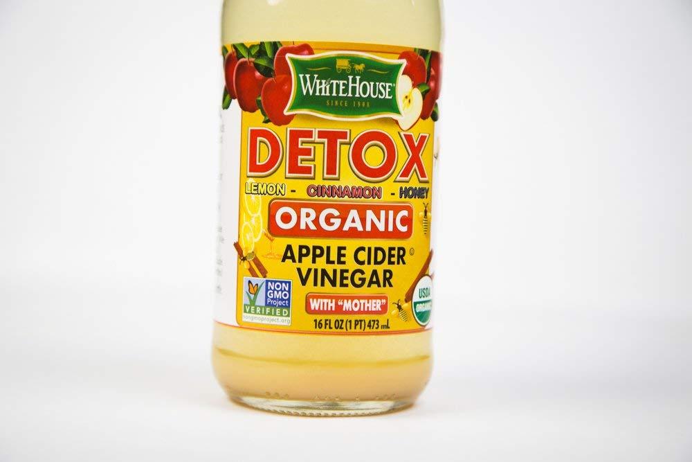 Amazon com : White House Organic Detox Apple Cider Vinegar