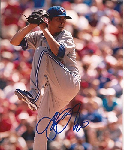 JESSE CHAVEZ TORONTO BLUE JAYS SIGNED AUTOGRAPHED 8X10 PHOTO COA by ALL STAR CARDS & COLLECTIBLES