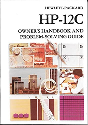 hewlett packard hp 12c owner s handbook and problem solving guide hp rh amazon com User Manual Guide Active Directory User