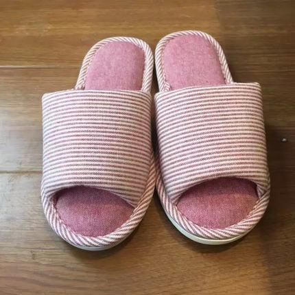 Casa de verano de los zapatos de algodón interior masculina parejas lavar a máquina estancia piso antideslizante zapatillas ...