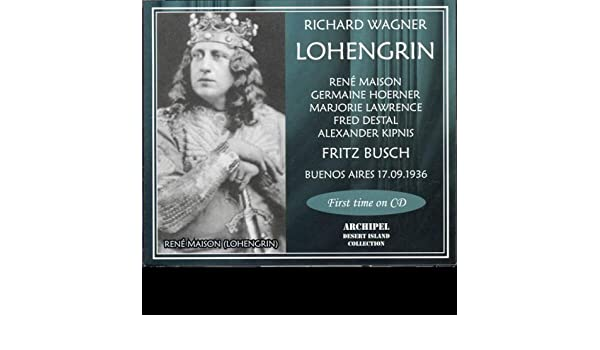 Lohengrin - Act III - Für deutsches Land (Chorus in Italian) (Wagner) by Teatro Colon Chorus And Orchestra Fritz Busch on Amazon Music - Amazon.com