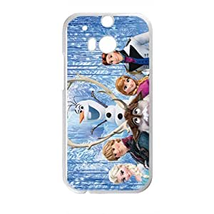 Frozen White HTC M8 case