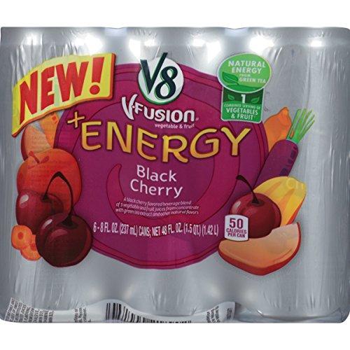 V8 Energy Black Cherry Vegetable product image