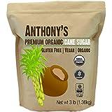 Organic Cane Sugar (3 lbs) by Anthony's, Gluten-Free & Non-GMO
