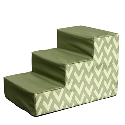 Excellent Sponge Fabric Small Dog Step Stool For Bedroom Pet Stairs Customarchery Wood Chair Design Ideas Customarcherynet