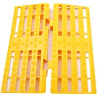 Sampada Synthetics High Quality Strong Floor Ramp - Yellow (L 30 cm x B 15 cm - Pack of 2)