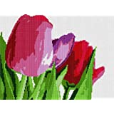 About Tulips Needlepoint Canvas