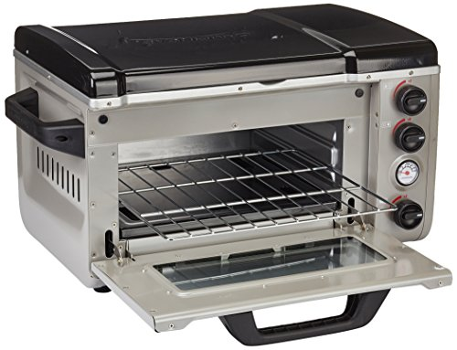 Go System GS2280 Dynasty Portable Outdoor Camping 30 Litre Oven Powered by 227g Gas Cartridges
