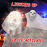 Heyzeibo 10.8ft Halloween Hanging Ghost - Scary