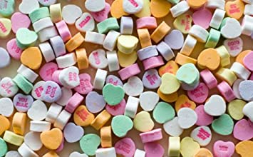 Image Of Conversation Hearts
