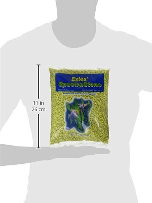 Amazon.com : Spectrastone Permaglo Yellow Aquarium Gravel for Freshwater Aquariums, 5-Pound Bag : Aquarium Decor Gravel : Pet Supplies