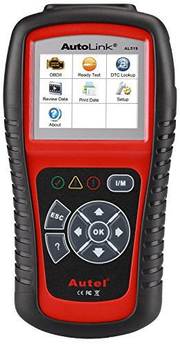 Autel AL519 AutoLink Enhanced OBD ll Scan Tool with Mode 6 Fault Code Reader EOBD