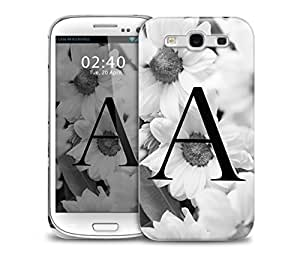 letter a Samsung Galaxy S3 GS3 protective phone case